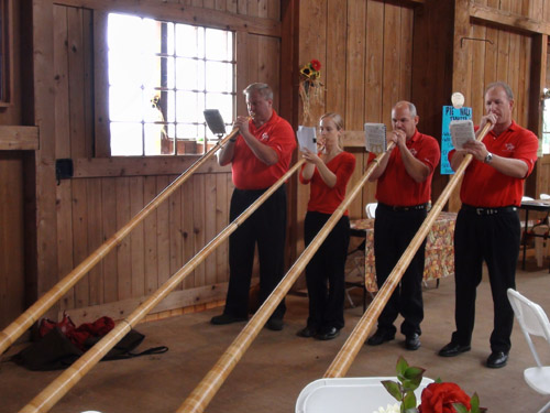 The Helvetia Alphorns